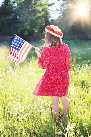 Fourth of July tiny